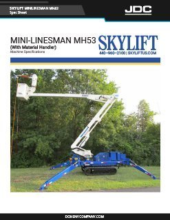Skylift Linesman MH53 Backyard Bucket